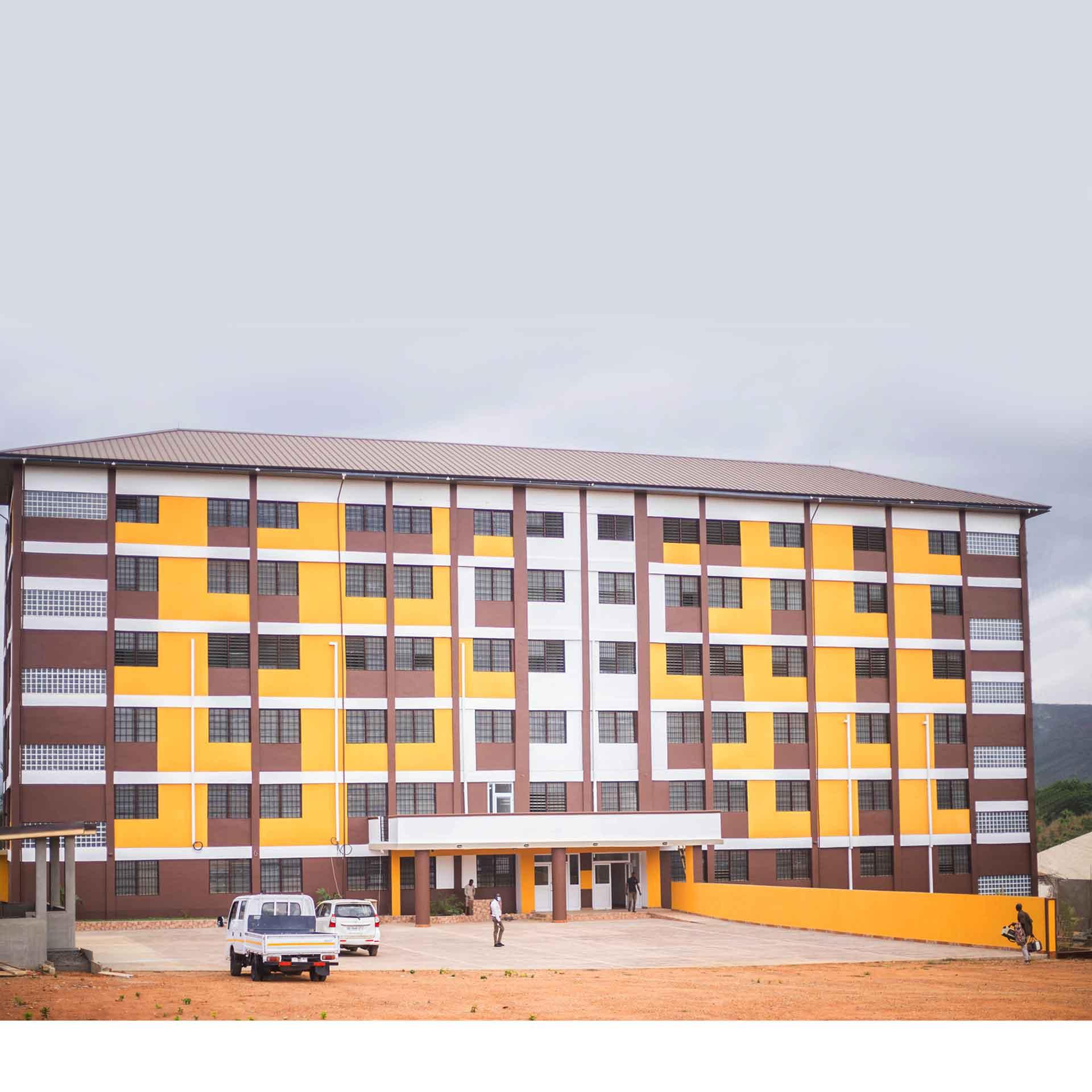 AUCDT Campus at Oyibi